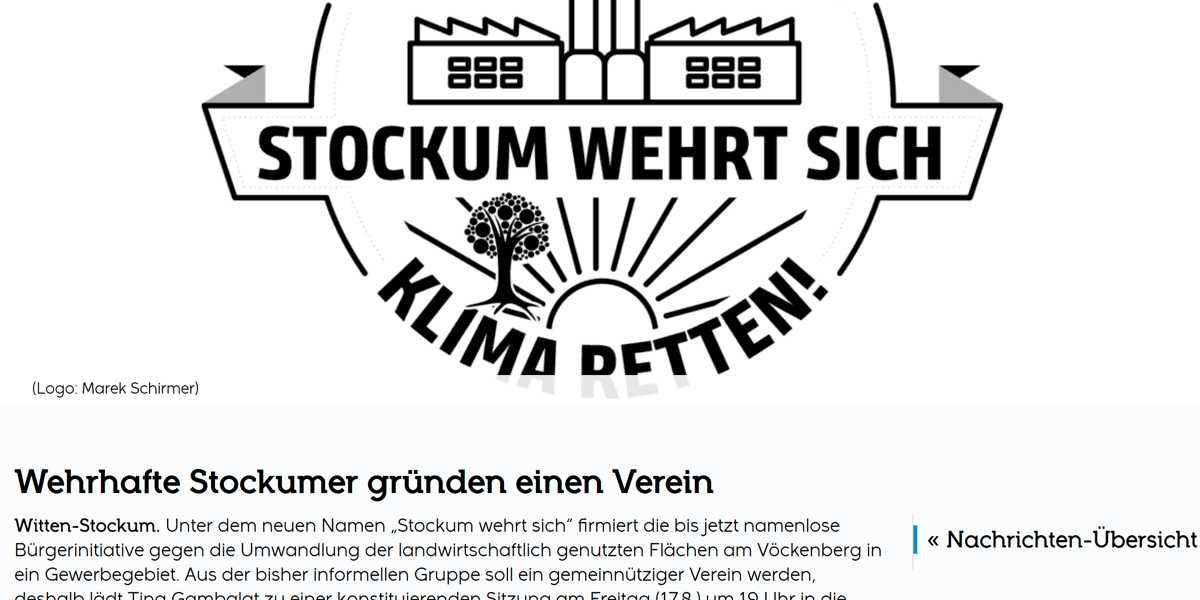 Screenshot: stockum.de